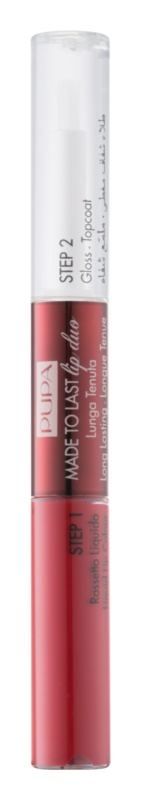 Pupa Collection Privée ruj si luciu de buze cu persistenta indelungata 2 in 1