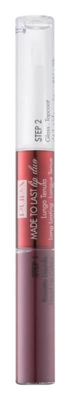 Pupa Collection Privée dolgoobstojna dvofazna barva in sijaj za ustnice