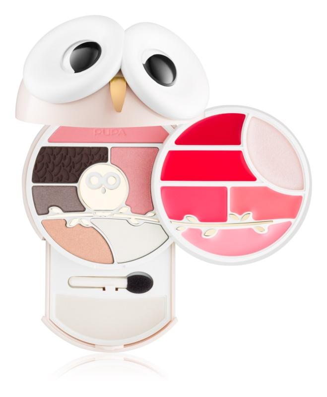 Pupa All You Need Is Owl Pupa Owl 3 multifunkčná paleta