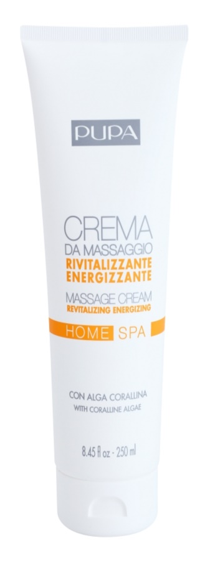 Pupa Home SPA Revitalizing Energizing Massage Cream
