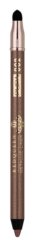 Pupa Red Queen creion metalic pentru ochi