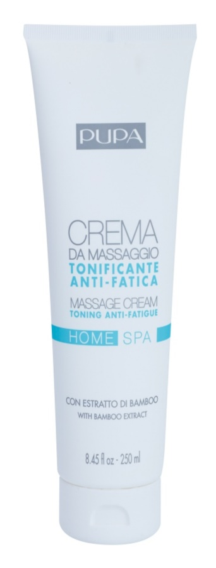 Pupa Home SPA Tonin Anti-Fatigue Massagecreme gegen Müdigkeit