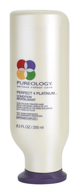 Pureology Perfect 4 Platinum kondicionér pre blond a melírované vlasy