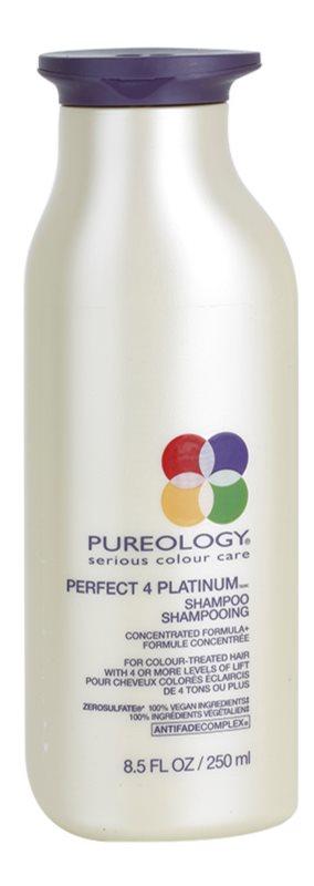 Pureology Perfect 4 Platinum šampón pre blond a melírované vlasy