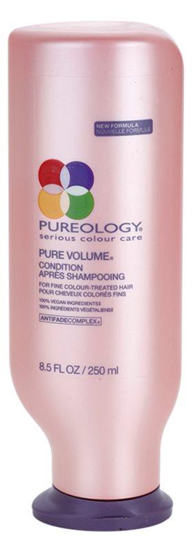 Pureology Pure Volume objemový kondicionér pre jemné, farbené vlasy