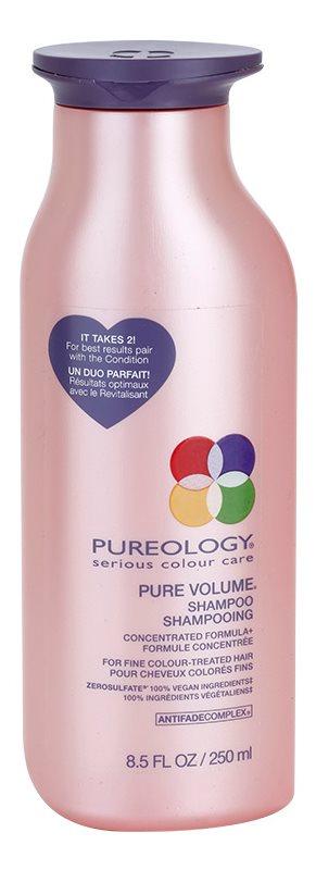 Pureology Pure Volume Volumen-Shampoo für feines gefärbtes Haar