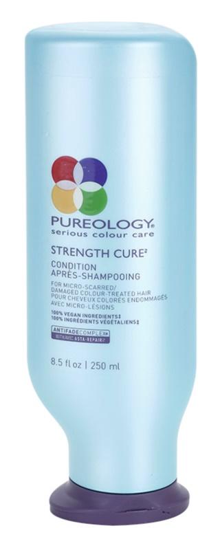 Pureology Strength Cure odżywka wzmacniająca do włosów zniszczonych i farbowanych