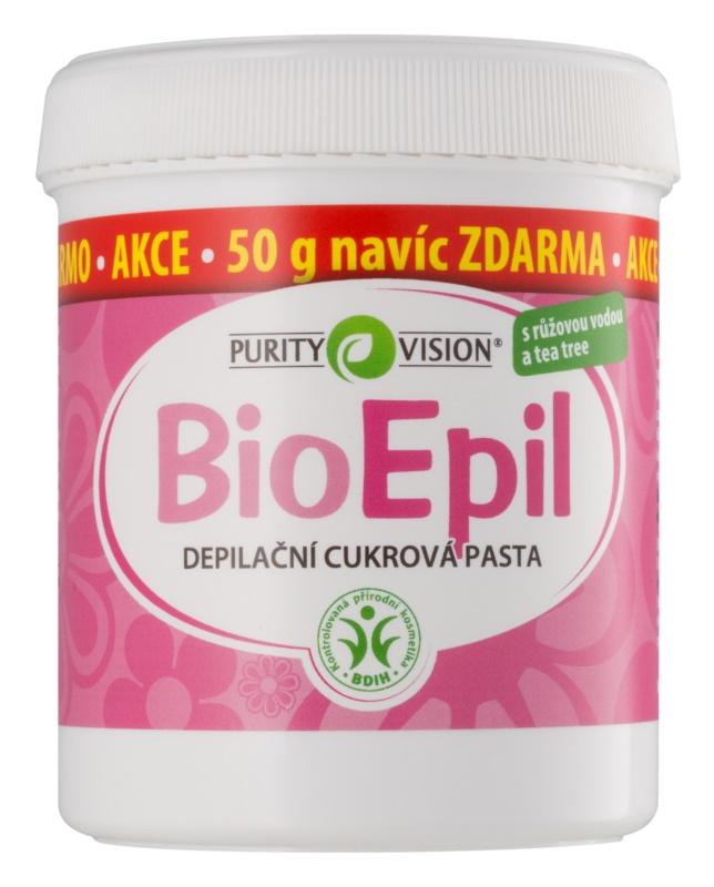 Purity Vision BioEpil pasta depilatoare pe baza de zahar