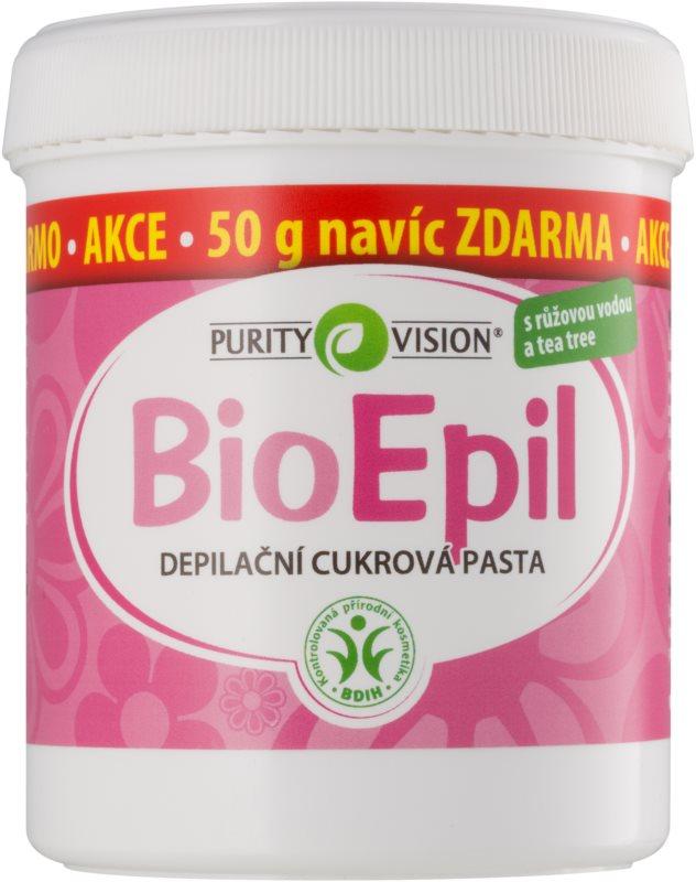 Purity Vision BioEpil pâte à sucre épilatoire