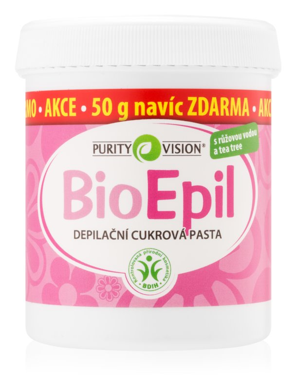 Purity Vision BioEpil pasta depilatoria a base de azúcar