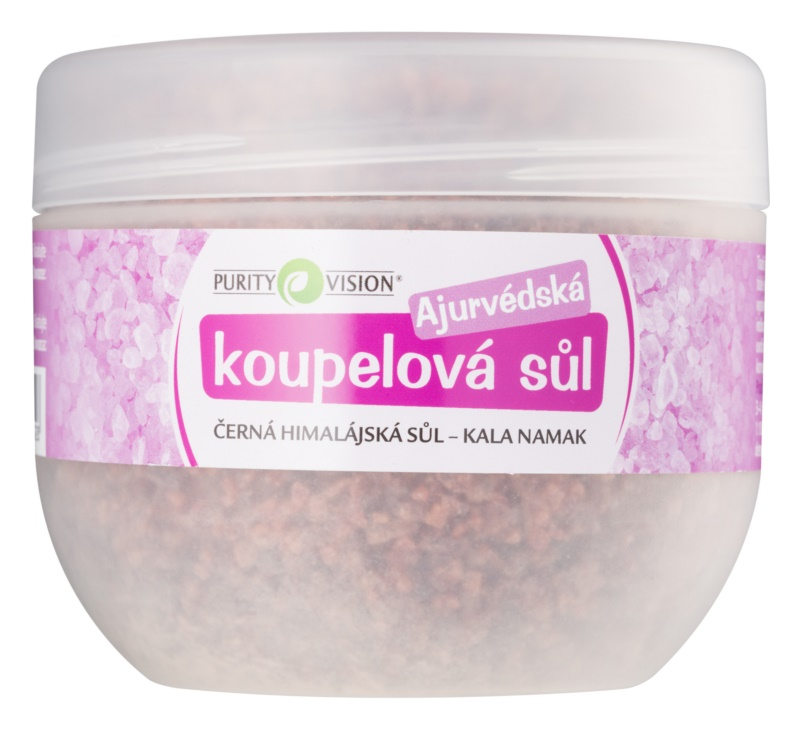 Purity Vision Kala Namak sales de baño ayurvédicas