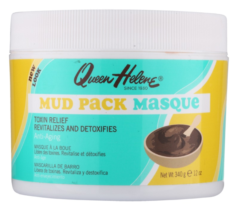 Queen Helene Mud Pack máscara facial com argila natural inglesa