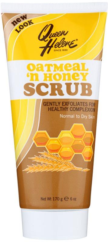 Queen Helene Oatmeal 'n Honey скраб для нормальної та сухої шкіри
