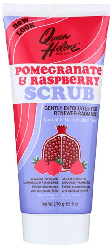 Queen Helene Pomegranate & Raspberry peeling pre normálnu až zmiešanú pleť