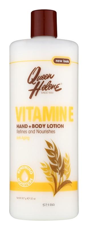 Queen Helene Vitamin E mléko na ruce a tělo