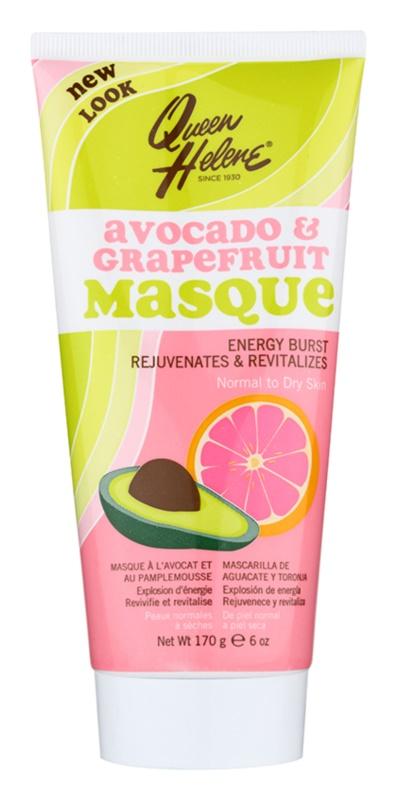 Queen Helene Avocado & Grapefruit maska pre normálnu až suchú pleť