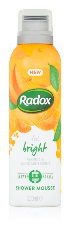 Radox Feel Bright negovalna pena za prhanje