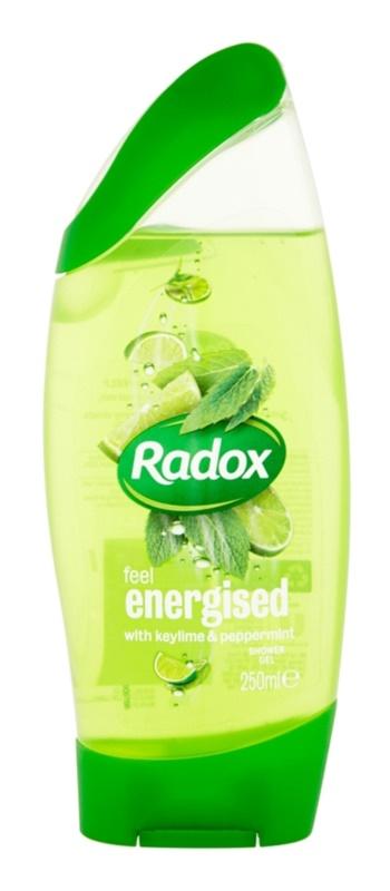 Radox Feel Refreshed Feel Energised gel de dus
