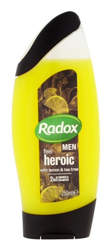 Radox Men Feel Heroic Shower Gel And Shampoo 2 In 1
