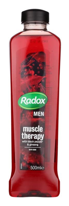 Radox Men Muscle Therapy пінка для ванни