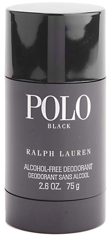 Ralph Lauren Polo Black Deodorant Stick voor Mannen 75 ml