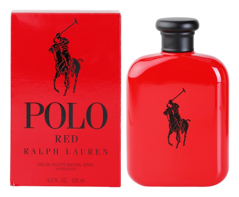 Ralph Lauren Polo Red Eau de Toilette voor Mannen 125 ml