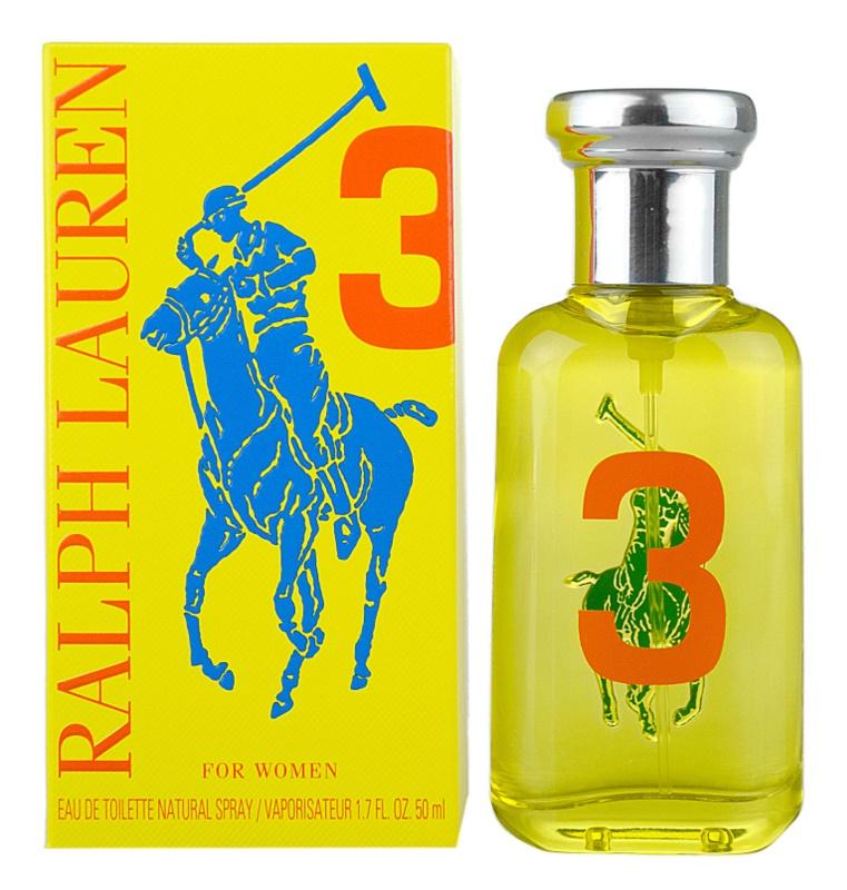 Ralph Lauren The Big Pony Woman 3 Yellow toaletná voda pre ženy 50 ml