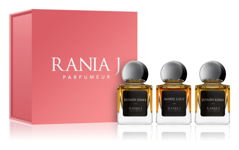 Rania J. Priveé Rubis Collection Gift Set
