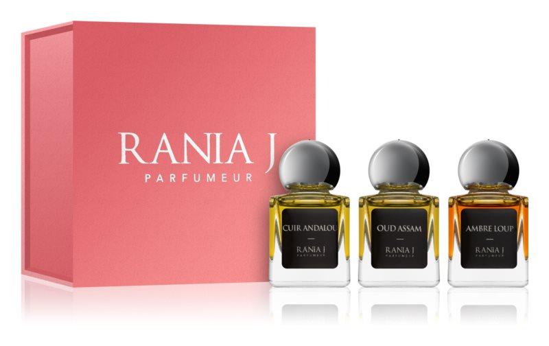 Rania J. Priveé Émeraude Collection lote de regalo IV.