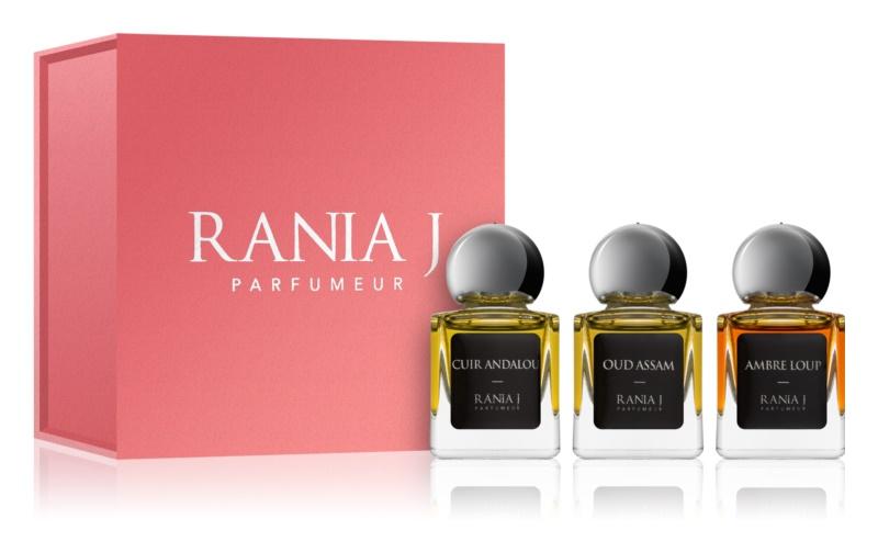 Rania J. Priveé Émeraude Collection set cadou IV.