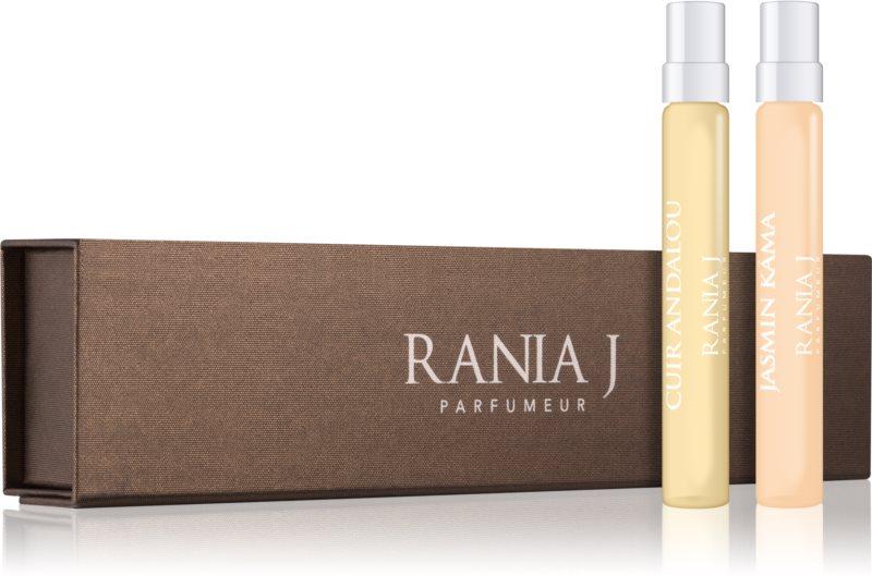 Rania J. Travel Collection Geschenkset VII. Jasmin Kamá, Cuir Andalou