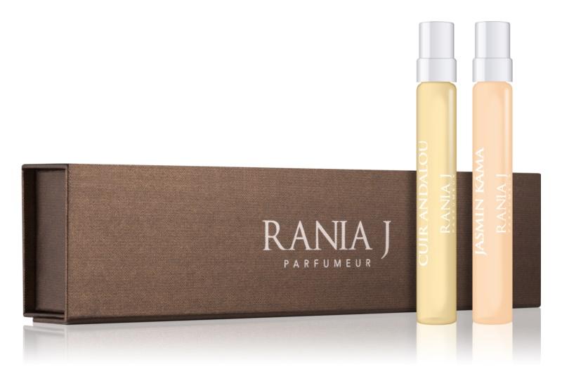 Rania J. Travel Collection set cadou VII. Jasmin Kamá, Cuir Andalou