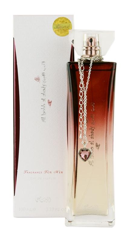Rasasi Al Hobb Al Abady eau de parfum pour femme 100 ml