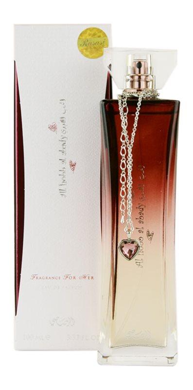 Rasasi Al Hobb Al Abady Eau de Parfum voor Vrouwen  100 ml