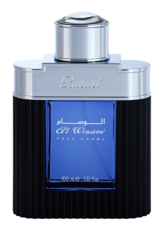 Rasasi Al Wisam Evening eau de parfum pour homme 100 ml