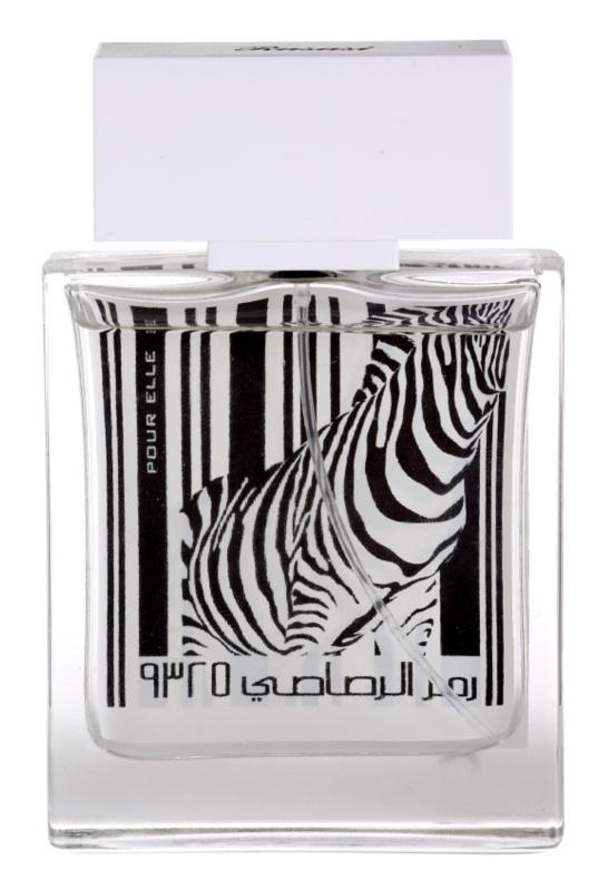 Rasasi Rumz Al Rasasi Zebra Pour Elle Eau de Parfum voor Vrouwen  50 ml