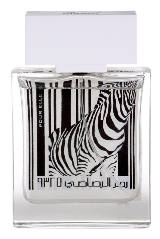 Rasasi Rumz Al Rasasi Zebra Pour Elle Parfumovaná voda pre ženy 50 ml