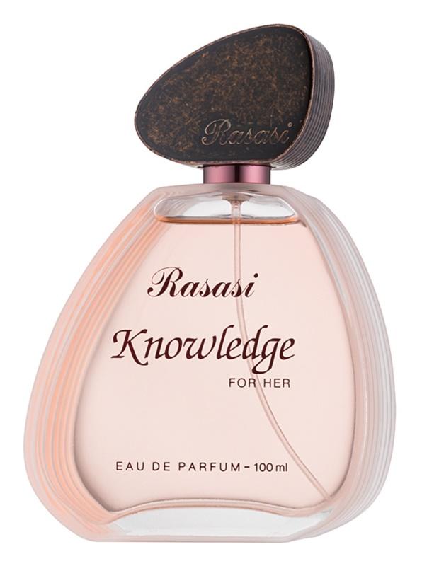 Rasasi Knowledge for Her Eau de Parfum voor Vrouwen  100 ml