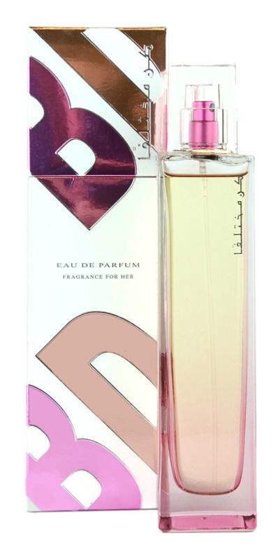 Rasasi Kun Mukhtalifan Women Eau de Parfum voor Vrouwen  100 ml