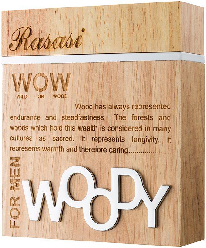 Rasasi Woody for Men Parfumovaná voda pre mužov 60 ml