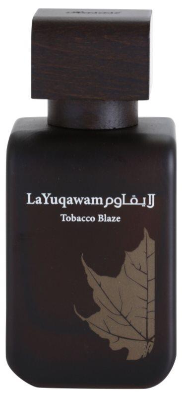 Rasasi Tobacco Blaze Eau de Parfum für Herren 75 ml
