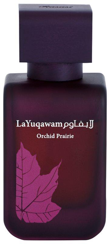 Rasasi La Yuqawam Orchid Prairie eau de parfum pour femme 75 ml