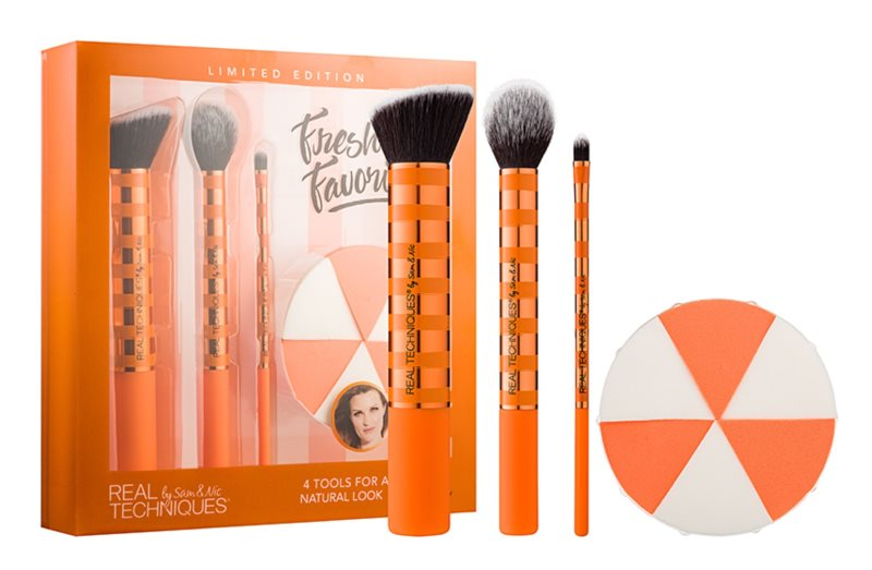 Real Techniques Fresh Face Favorites Cosmetic Set I.