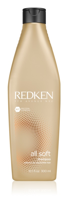 Redken All Soft Shampoo for Dry and Brittle Hair With Argan Oil
