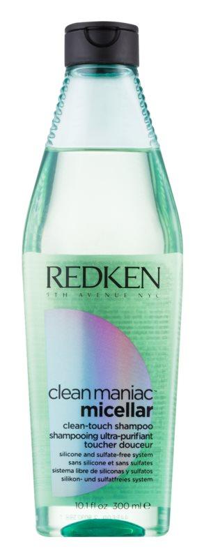 Redken Clean Maniac Micellar sampon pentru curatare