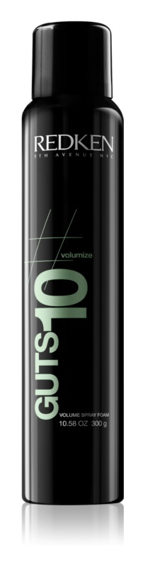 Redken Volumize Guts 10 espuma styling  para volume e brilho