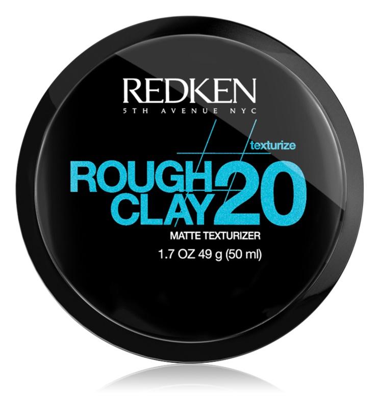 Redken Texturize Rough Clay 20 pasta matificante para fijación flexible