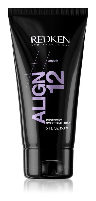 Redken Straight Lissage Align 12 вирівнюючий лосьон для волосся пошкодженого високими температурами