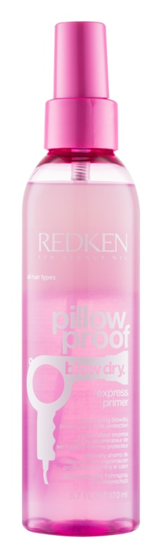 Redken Pillow Proof Blow Dry védőspray a haj gyors kifújásához