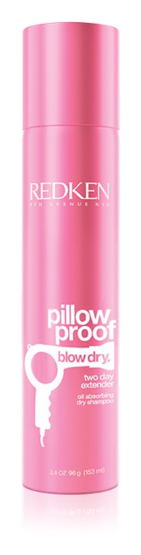 Redken Pillow Proof Blow Dry champô seco para refrescar o cabelo